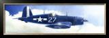 F-4U Corsair Framed Giclee Print by Douglas Castleman