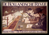 De Hollandsche Revue Framed Giclee Print by Johan Georg Van Caspel