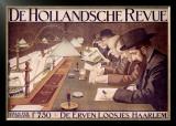 De Hollandsche Revue Framed Giclee Print by Johan Georg Van Caspel
