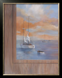 Sailing at Sunset I Prints by Vivien Rhyan