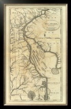 Delaware, c.1795 Framed Giclee Print by Mathew Carey
