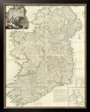 Composite: Ireland, c.1790 Framed Giclee Print by John Rocque