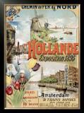 Chemin de Fer du Nords, Hollande Framed Giclee Print by Gustave Fraipont