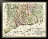 Connecticut, c.1796 Framed Giclee Print by Daniel Friedrich Sotzmann