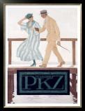PKZ Framed Giclee Print by Brynolf Wennerberg