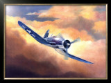 Corsair Framed Giclee Print by Douglas Castleman