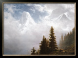 High in the Mountains Posters by Albert Bierstadt