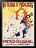 Moulin Rouge Framed Giclee Print by Jules Chéret