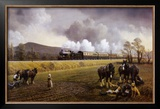 Great Western Near South Brent 1913 Prints by Gerald Broom