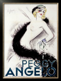 Peggy Angelo Framed Giclee Print by Heymann