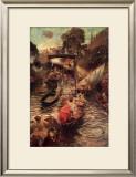 Boulter's Lock: Sunday Afternoon Prints by Edward John Gregory