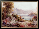 Villa Melzie, Como, Italy Prints by Ebenezer Wake Cook