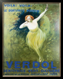 Verdol Dentifrice Framed Giclee Print by Leonetto Cappiello