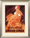 Grieder, Zurich Framed Giclee Print