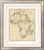 Africa, c.1834 Framed Giclee Print by John Arrowsmith