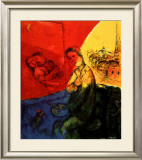 Peintre Prints by Marc Chagall