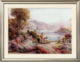 Villa Melzie, Como, Italy Print by Ebenezer Wake Cook