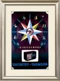 Ducretet Thomson Framed Giclee Print