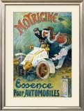 Motricine Framed Giclee Print by J.l. Lesourd