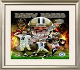 Drew Brees 2010 Framed Photographic Print
