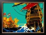 East Anglia Framed Giclee Print by Frank Mason