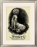 Forster Framed Giclee Print by Otto Baumberger