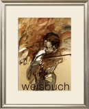 Le Violoniste Art by Claude Weisbuch