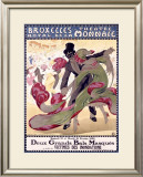 Bruxelles Theatre Royal Framed Giclee Print by A. Ost