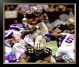 Pierre Thomas 2009 With NFC Championship Framed Photographic Print