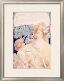 Tropon Cocoa Framed Giclee Print
