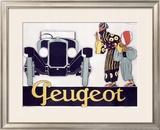 Peugeot Framed Giclee Print