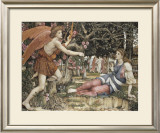Love and the Maiden Prints by John Roddam Spencer Stanhope