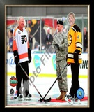 Bobby Orr & Bobby Clarke 2010 Winter Classic Framed Photographic Print