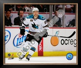 Ryan Clowe 2009-10 Framed Photographic Print