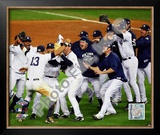 The New York YankeesGame Six of the 2009 MLB World Series Framed Photographic Print