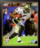 Marques Colston Super Bowl XLIV Framed Photographic Print