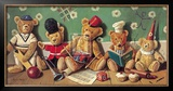 Playschool Print by Raymond Campbell