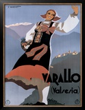 Varallo (Valesia) Framed Giclee Print by F Romoli