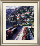 Varenna Vista Poster by Howard Behrens