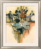 All That Jazz II Prints by Karen Dupré