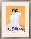 Dolly Sisters Framed Giclee Print by Julien Landa
