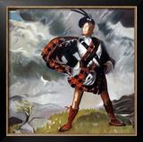 Western Highlands, LNER/LMS, 1934 Framed Giclee Print by Doris Clare Zinkeisen