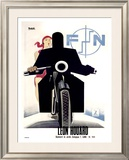Leon Houard Framed Giclee Print by Marcello Nizzoli