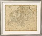 Europe, c.1812 Framed Giclee Print by Aaron Arrowsmith