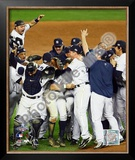 The New York Yankees Game Six of the 2009 MLB World Series Framed Photographic Print