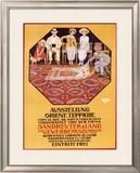 Orient Teppiche Framed Giclee Print by Burkhard Mangold