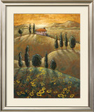 Tuscan Sunflowers I Prints by Marshall Banks