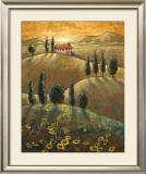 Tuscan Sunflowers I Prints by Marshall Banks