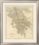 Greece, Ionian Islands, c.1832 Framed Giclee Print by John Arrowsmith