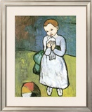 Kind Mit Taube, 1901 Poster by Pablo Picasso